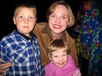 [Photo: Inez and the Kids Halloween 2006]