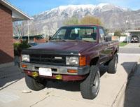 ['84 Toyota Pickup]