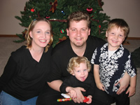 [Photo: Harwoods at Christmas]