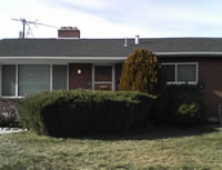 [Photo: House we are renting in Orem, Utah]