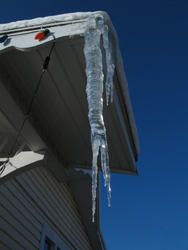 [Photo: Icicle]