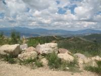 [Photo: Manti-La Sal; Skyline Drive, cruising the edge of the earth]